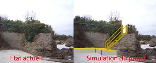 Photo 4 : vue de l'accès à la propriété Bolloré