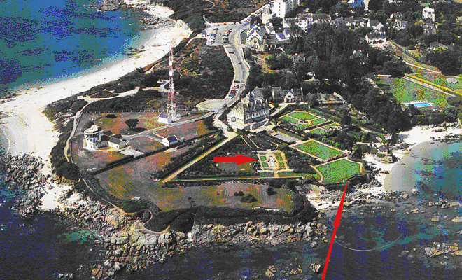 La propriété Lascar s'est étendue à la parcelle voisine et le mur a disparu