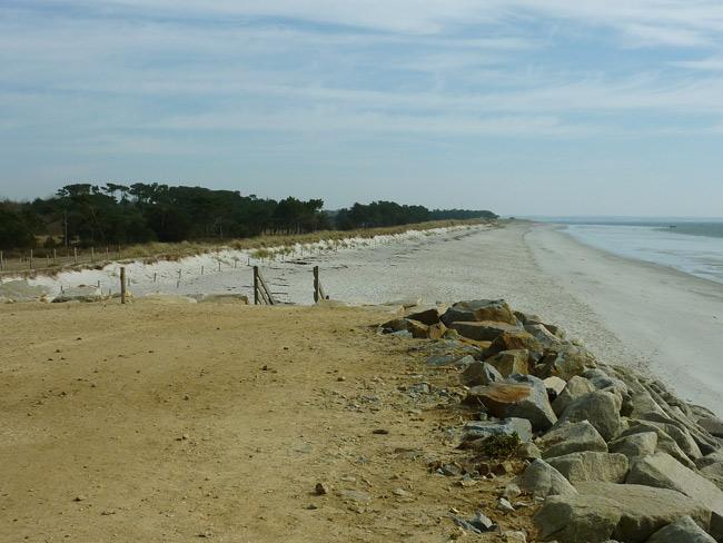 Tôt ou tard, la mer aurait eu raison de la dune de Mousterlin ouest