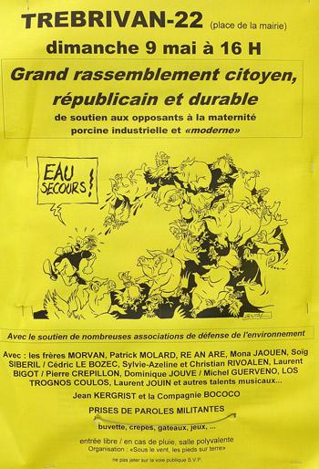 Affiche de la manifestation