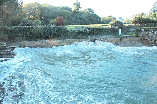 Botconan : le sentier est impraticable par grande marée