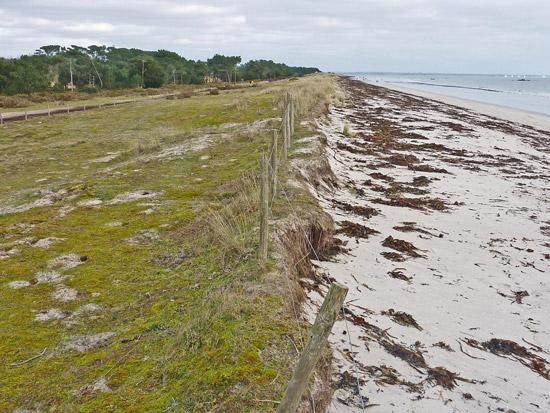 La dune de Mousterlin Est au 24 Février 2011