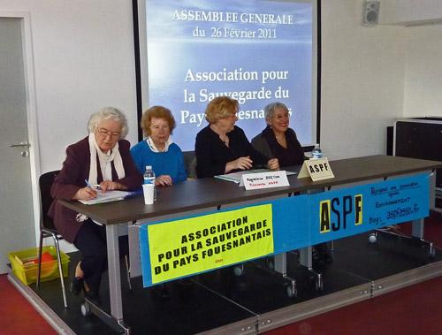 Assembl e g n rale association pour la sauvegarde du - Assemblee generale association renouvellement bureau ...