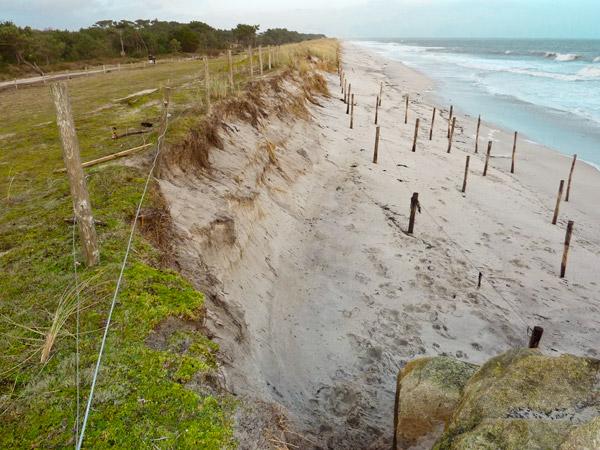 La dune de Cleut Rouz au 3 janvier 2013