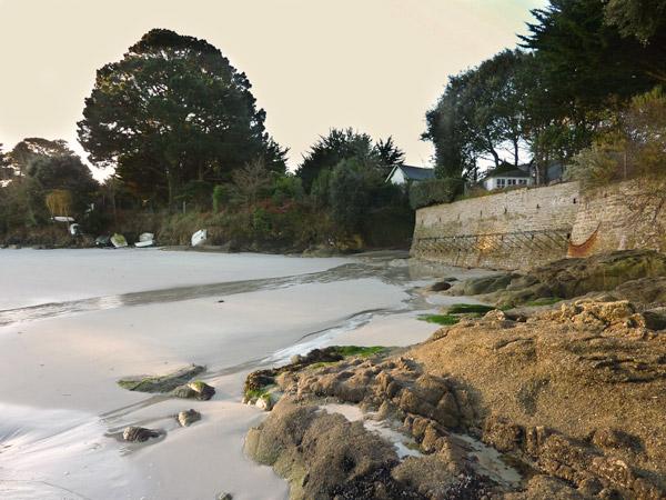 La plage des Oiseaux début janvier 2013