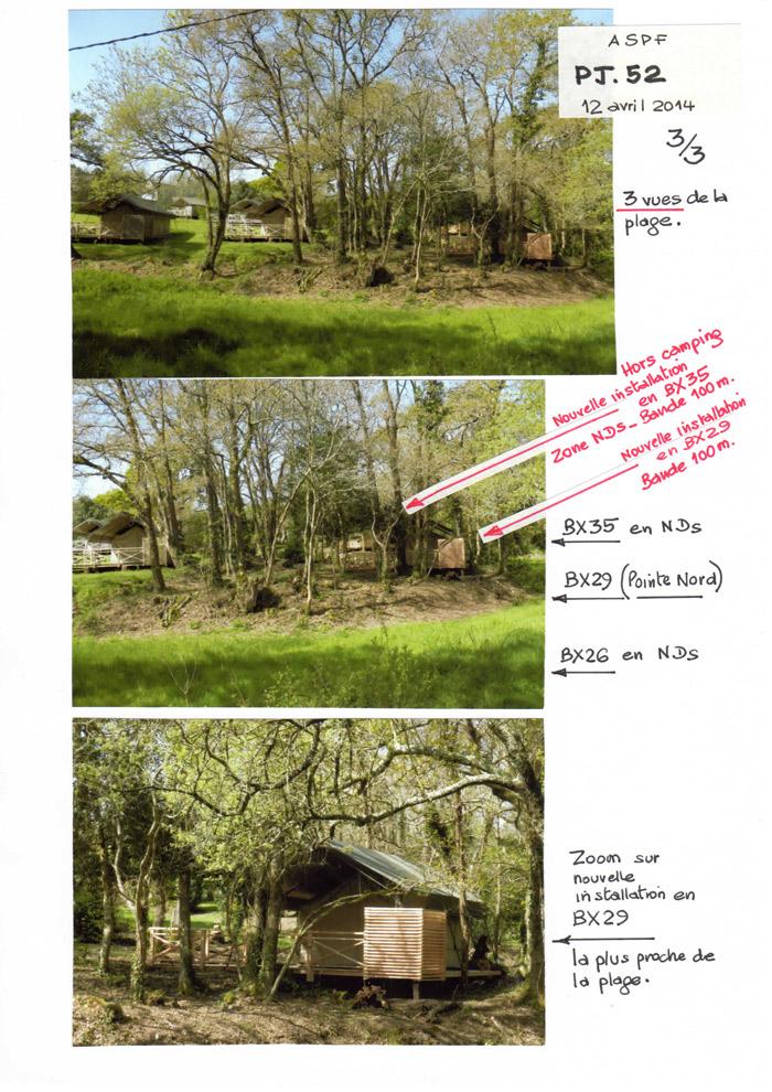 De nouvelles installations en 2014 dans la bande des 100 m et même hors camping !