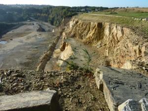 Une des sources de pollution du ruisseau de Pen Al Len